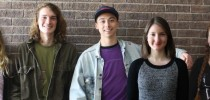 Scholastic awards gold medals to Monument artists, writers