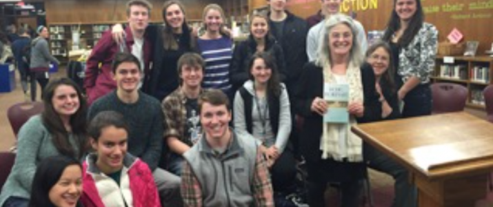 A walk down 'Polio Boulevard' with author Karen Chase at Monument Mountain High School