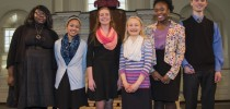Caroline Sprague, MMRHS junior, wins Poetry Out Loud state championship
