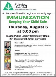 Fairview Hospital – Immunization – Keeping Your Child Safe